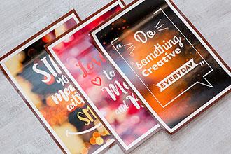 Печать плакатов и афиш.