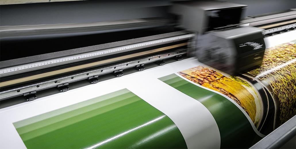 Печать рекламных баннеров.
