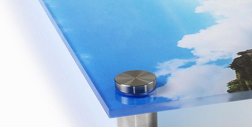 Печать краской на акриле.